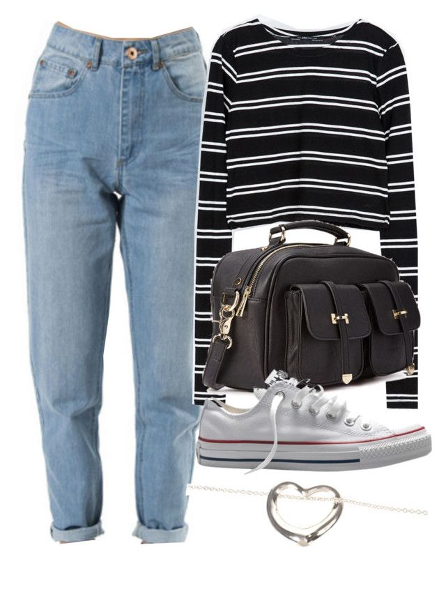 """""""Untitled #2460"""" by ieleanorcalderstyle ❤ liked on Polyvore featuring Zara, Forever 21, Converse and Elsa Peretti"""