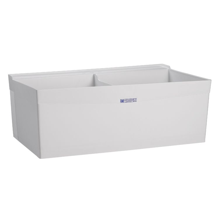 Buy Mustee 27w Double Bowl Laundry Utility Tub Wall Mount Laundry Sink Laundry Utility Rooms