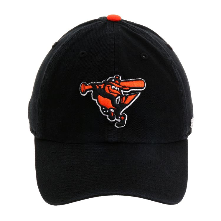 630fd59ee 47 Brand Cleanup Baltimore Orioles BP Adjustable Hat - Black ...