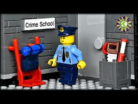 Lego Bank Robbery - YouTube | Brody awesome legos | Pinterest ...