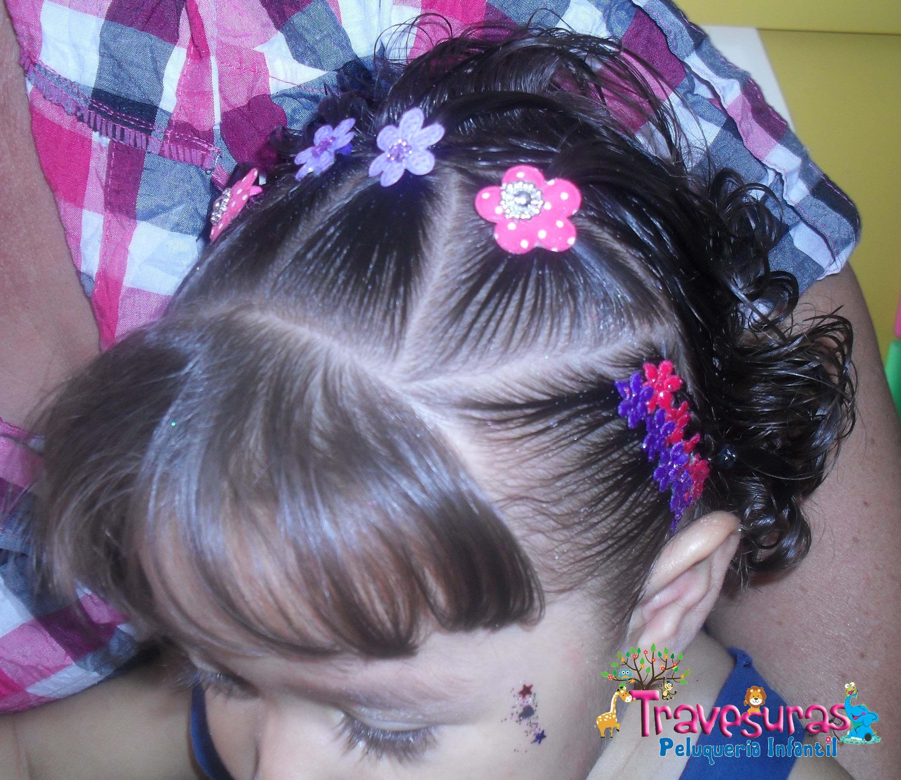 trenzas peinados nias peinados infantiles peluquera infantil - Peinados De Ninas
