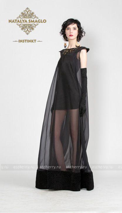 61fb22f78fa Платье из органзы