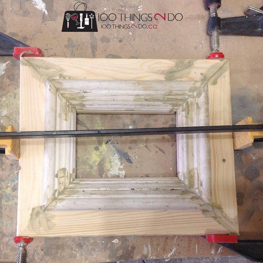 How to Make Wood Frames - Easy DIY | Pinterest | Marcos rústicos ...