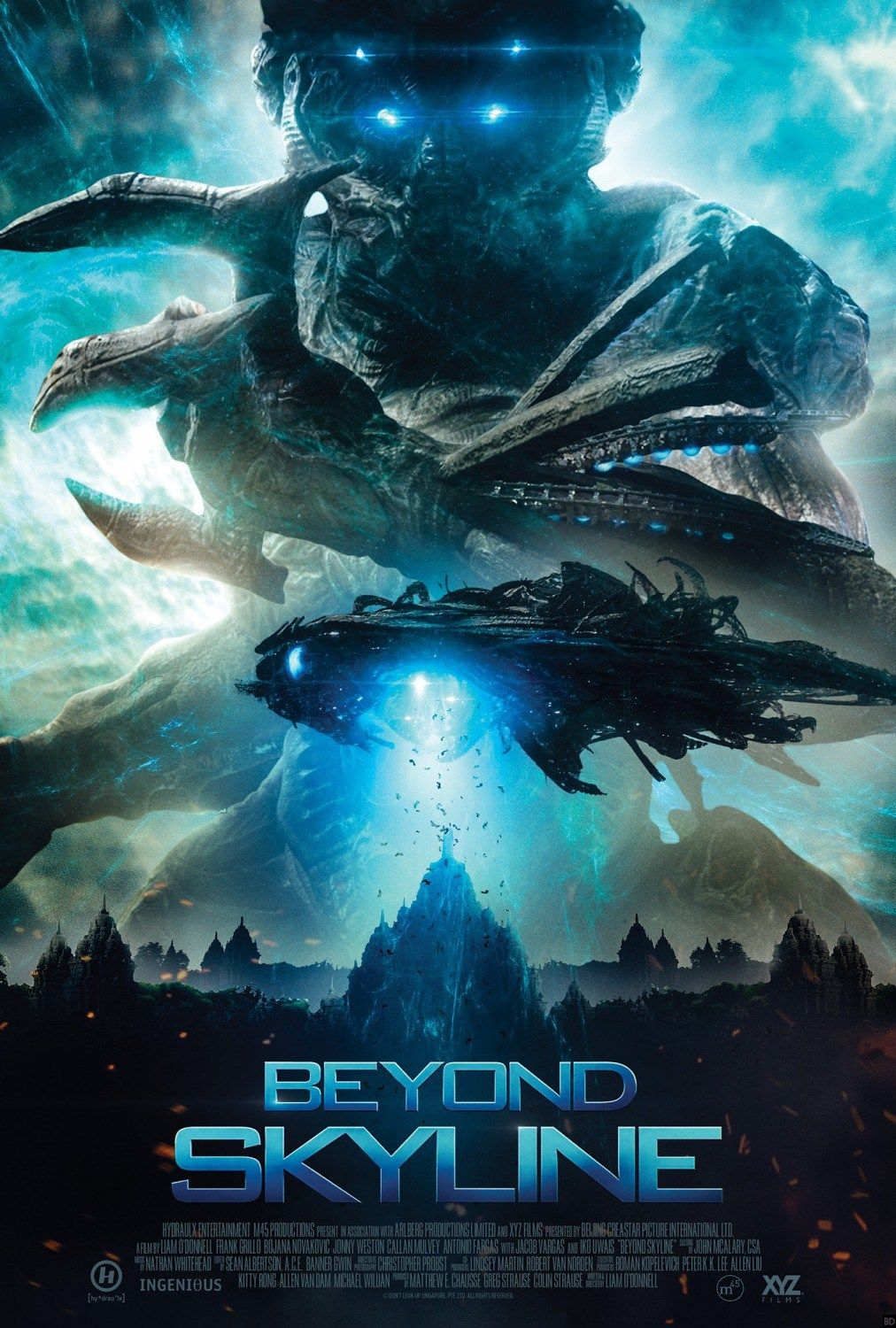 New Poster For Sci Fi Film Beyond Skyline