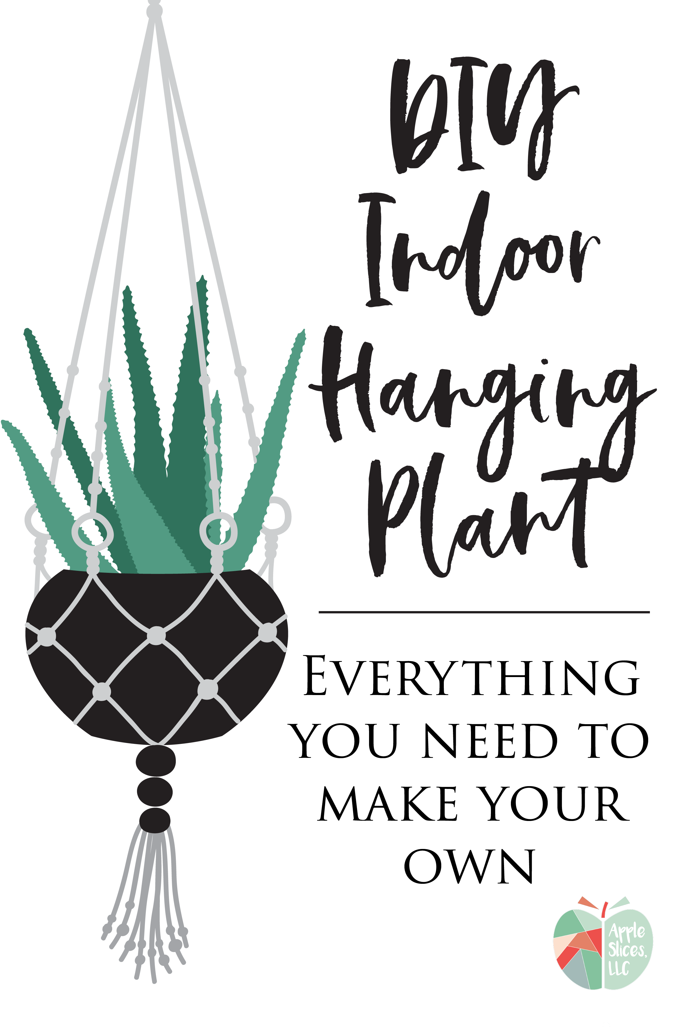 20 Minute DIY Indoor Hanging Plant | Perfect for Home ...