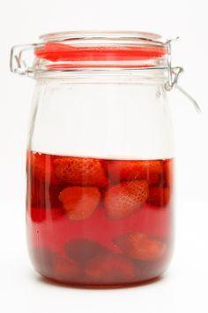Erdbeer-Essig