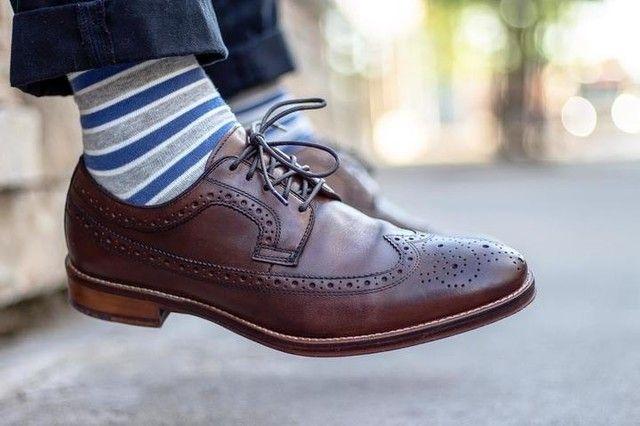 Dress shoes men, Wingtips, Mens shoes boots