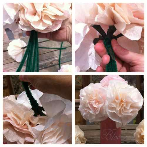 These Coffee Filter Flowers Are Perfect For Any Home Decor Wedding Centerpieces Or Easy Gift
