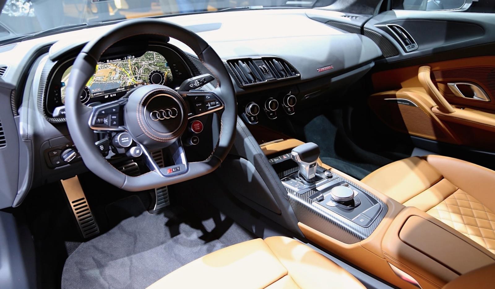 2016 Audi R8 Interior