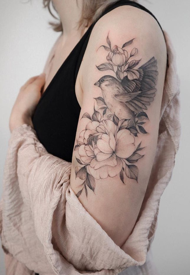 20 Unique Flower Sleeve Tattoo Design Ideas For Woman To Look Great Page 6 Of 20 Latest Fashion Trends For Woman Half Sleeve Tattoo Girls With Sleeve Tattoos Tattoo Sleeve Designs