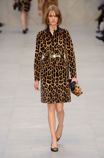 2.20.13 : Animal Print at Burberry Prorsum Fall 2013 Ready-to-Wear Collection