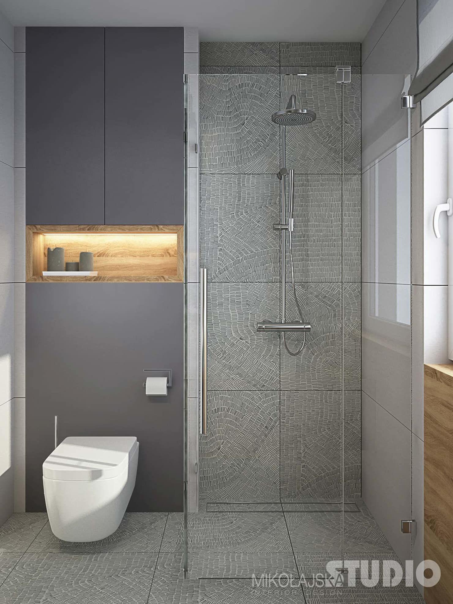 Schone Moderne Badezimmer Industriale Badezimmer Von Mikolajskastudio Industrial Idee Salle De Bain Salle De Bain Toilettes