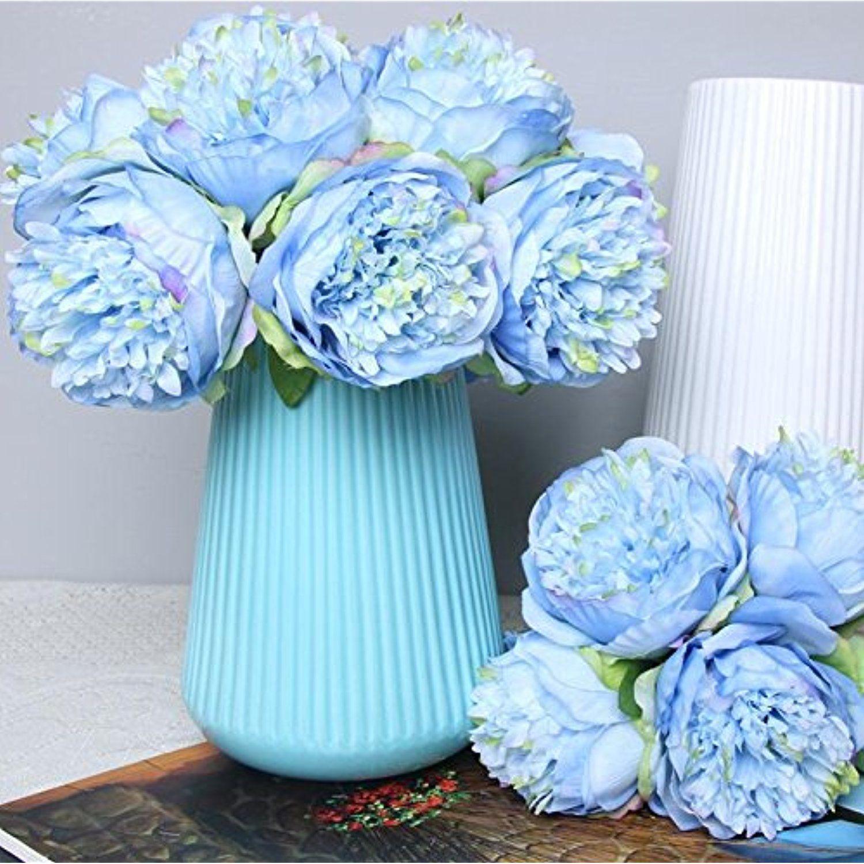 35 Heads Artificial Plastic Calla Lily Fake Leaf Flowers Plant Home Decor Surpri