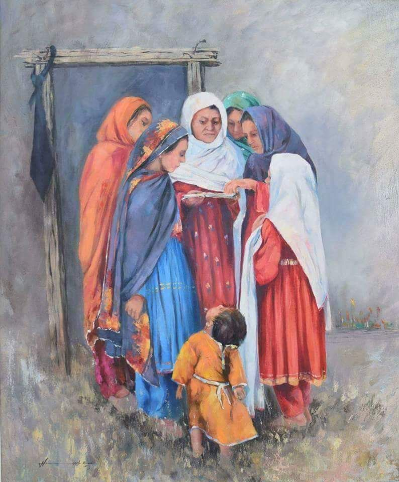Pashtun Culture Depicted in PAINTINGS - Majestic Pakistan