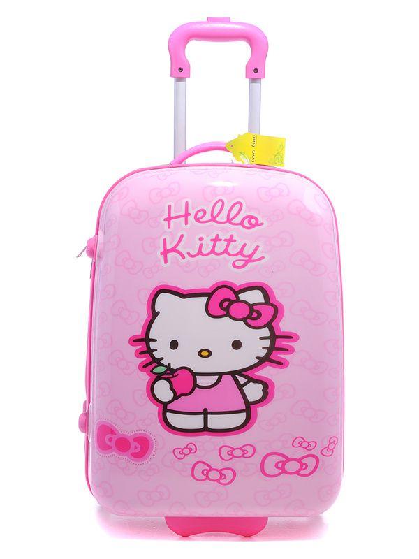 luggage bag | Hello kitty, Kitty, Bé gái