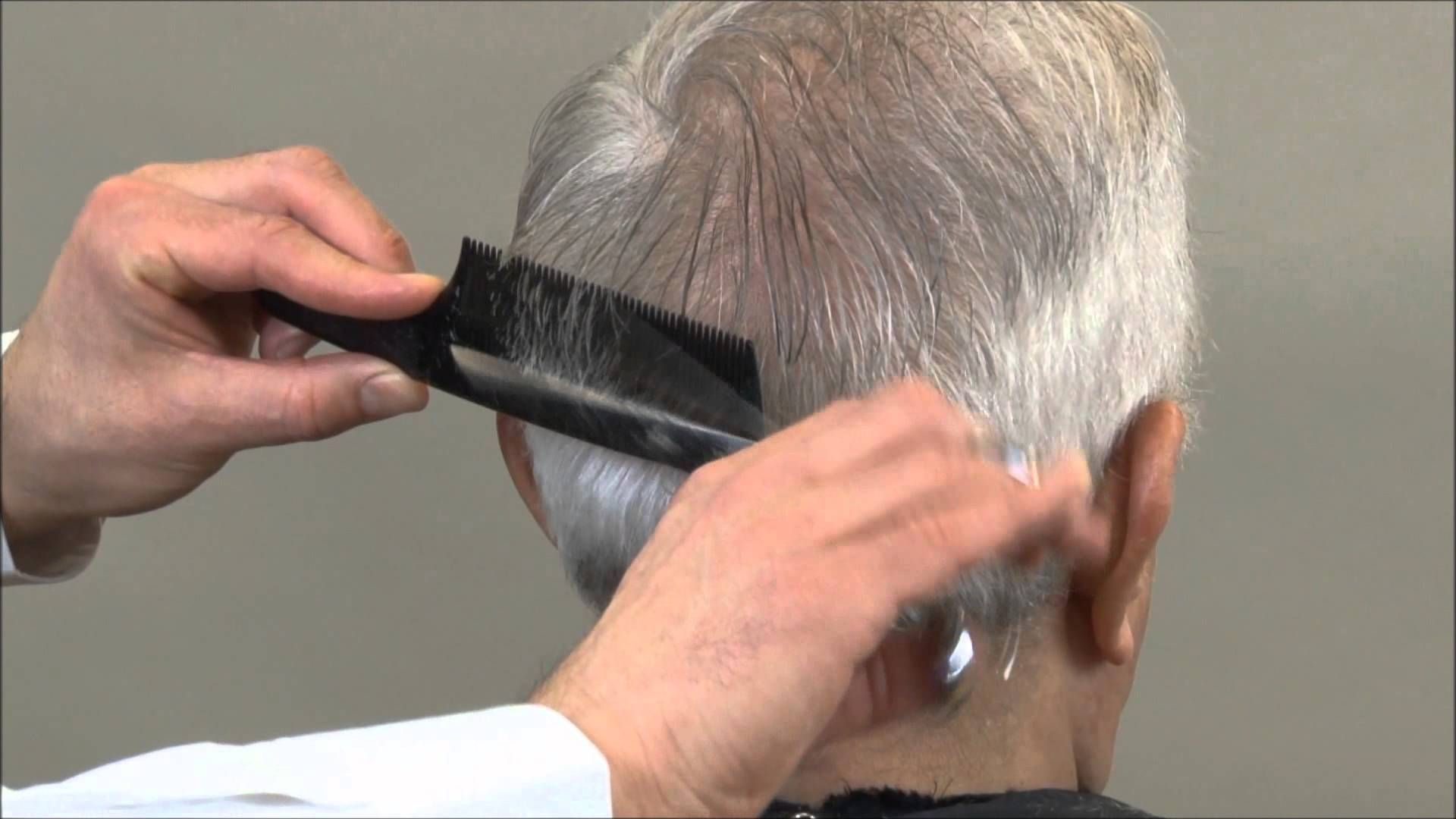 Mad Men Hairstyle Scissor Over Comb Haircuts for men