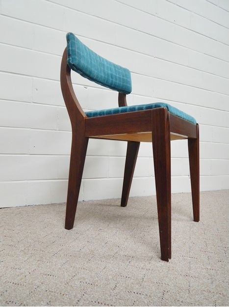 Vtg Mid Century Modern Danish Sewing Chair Vanity Stool W Storage Under Seat Danishmodern Unknown Sold Sewing Chair Chair Antique Chairs