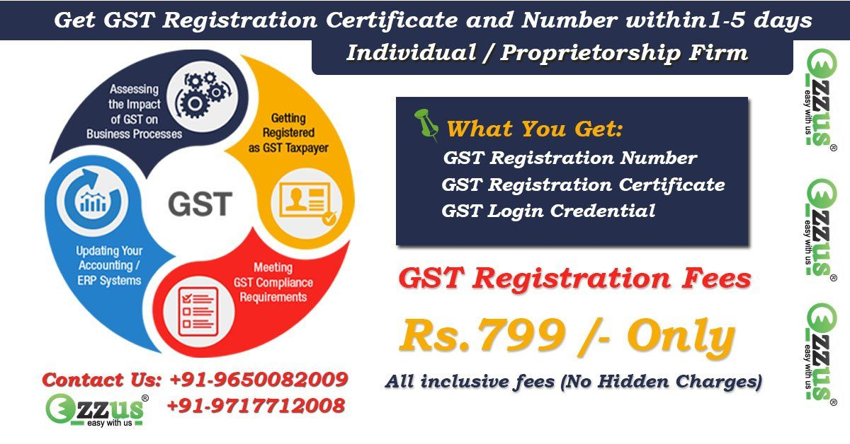 Get Gst Registration Certificate And Number Within 1 5 Days
