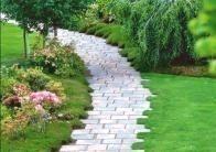 Photo of Garden Path Ideas, #colorful #flowers #frontgarden #garden #gardendesign –  Gard…