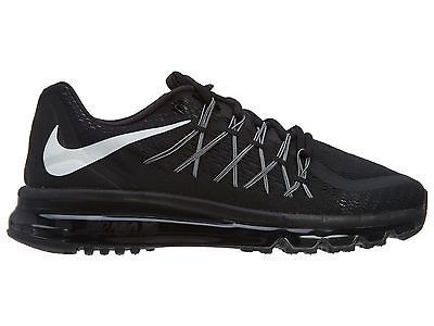 Nike Air Max 2015 Mens 698902 001 Black Running Shoes