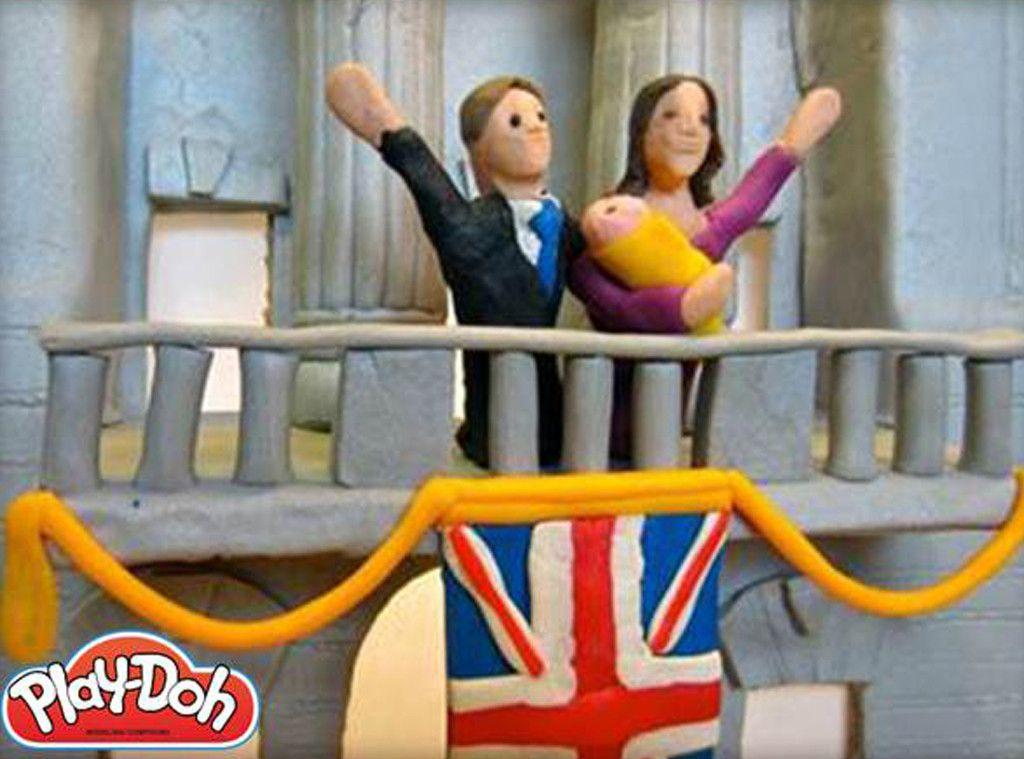 Play Doh from Royal Baby Memorabilia #babymemorabilia