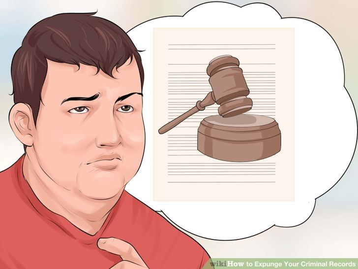 how to get criminal background expunged