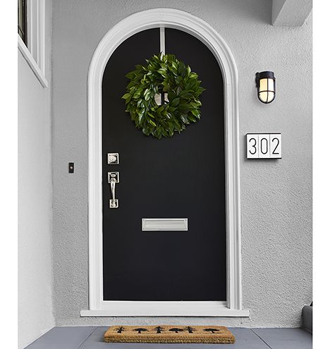 Modern Ceramic House Numbers Exterior Door Hardware Exterior Doors Ceramic House Numbers