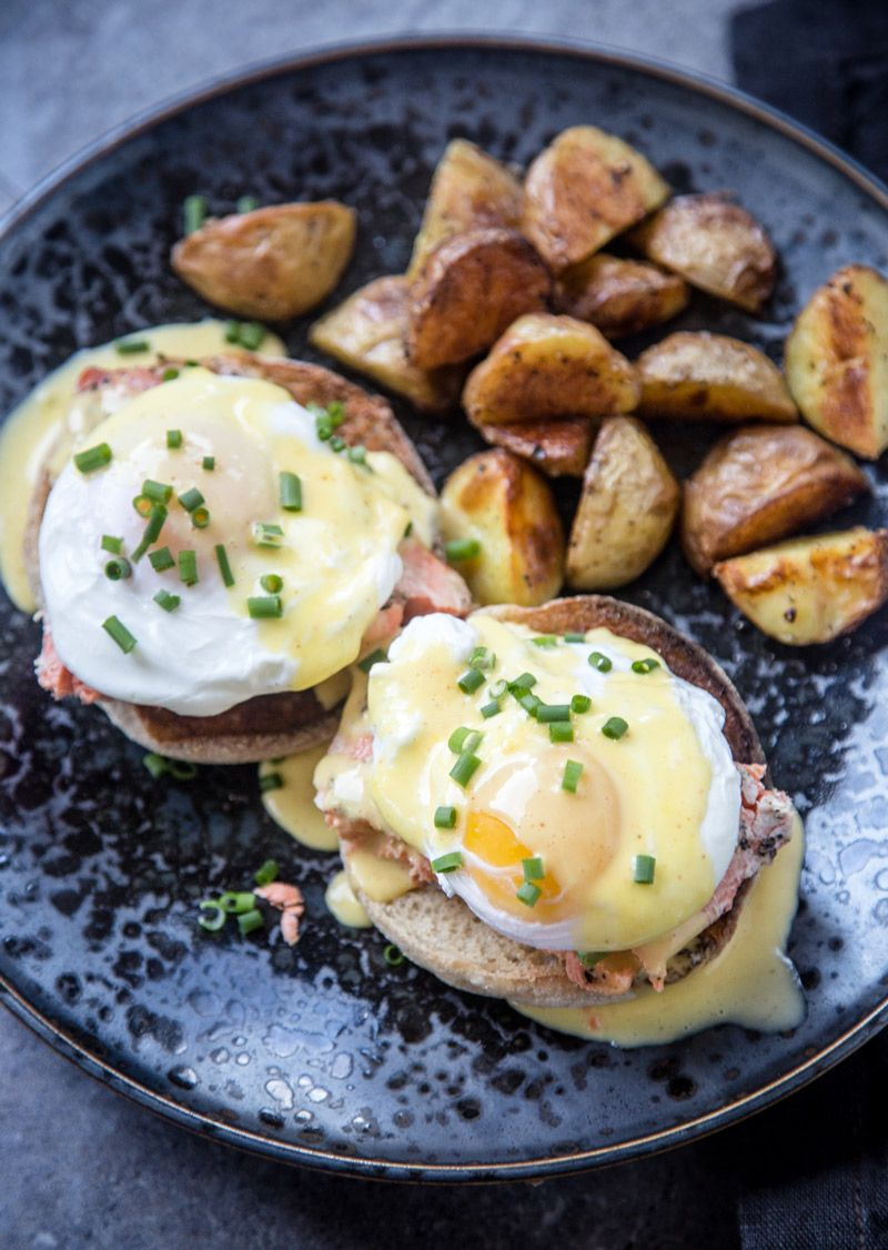 Smoked Salmon Eggs Benedict Recipe Breakfast
