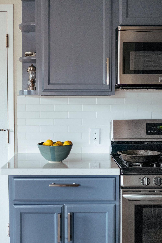 Santa Cruz Residence Kitchen Remodel Stripe Design Services Santa Cruz Ca Blue Cabinets White Subwa Kitchen Remodel Kitchen Inspirations Kitchen Design