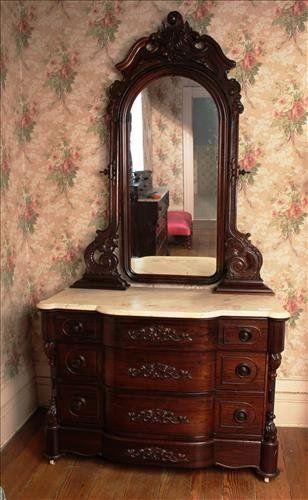 Rosewood dresser matching 4 pc. Mallard on | Muebles antiguos ...