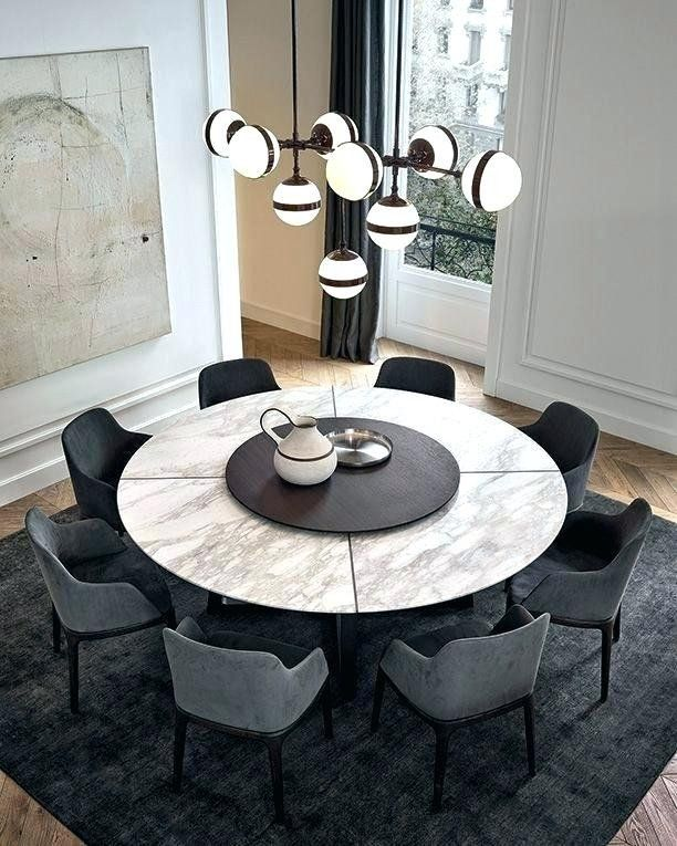 Pin On Casa Interior, Round Dining Room Table Sets