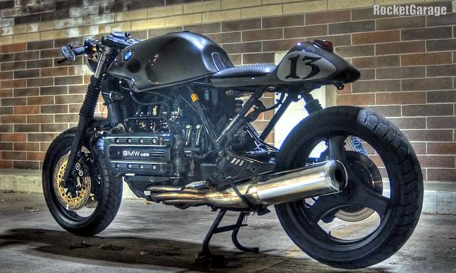 bmw k100 custom | RocketGarage Cafe Racer: K100RS Cafe Racer
