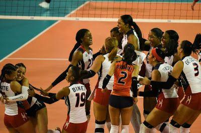 Armario de Noticias: Adán Peguero felicita a equipo de Voleibol Femenin...