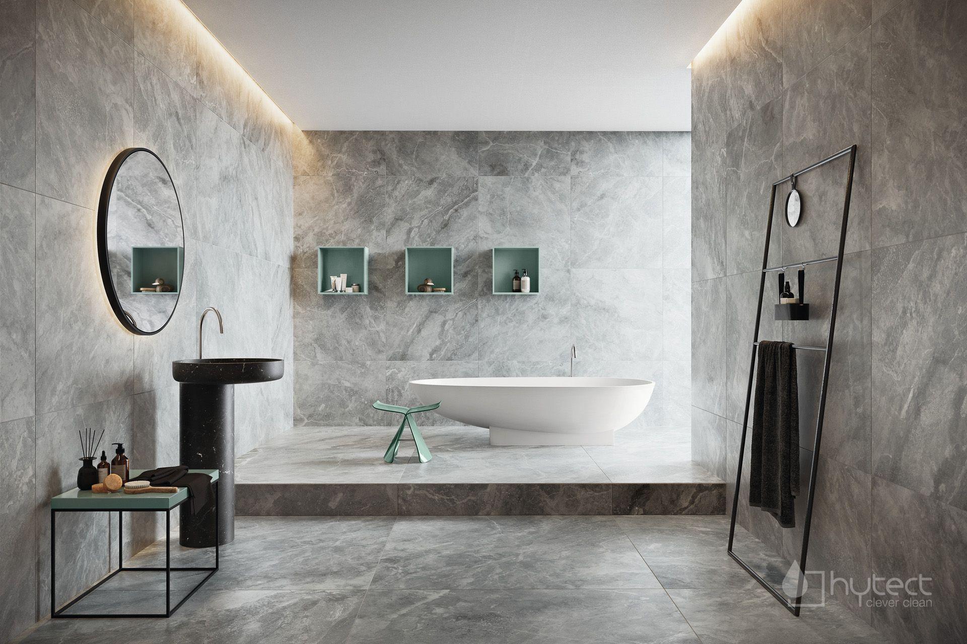 Badezimmer Ideen Luxusbad Mit Marmorfliesen Aus Keramik Luxusbad Badezimmer Marmorfliesen