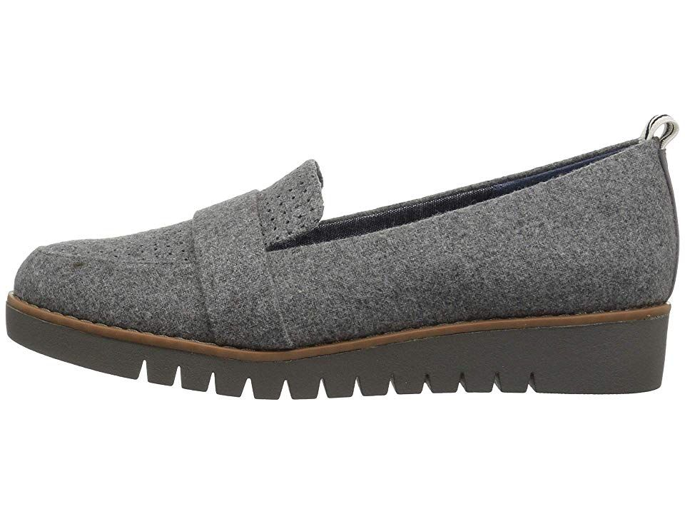 2a97150a9ea Dr. Scholl s Imagined Perf Women s Shoes Grey Flannel Fabric in 2019 ...
