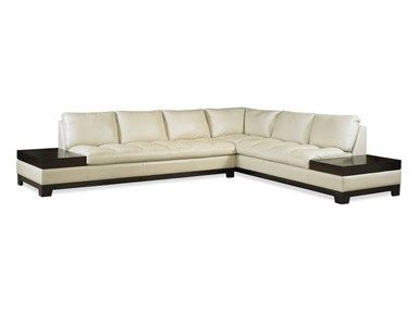 Shop For Elite Leather Peninsula Sectional 23005a And Other