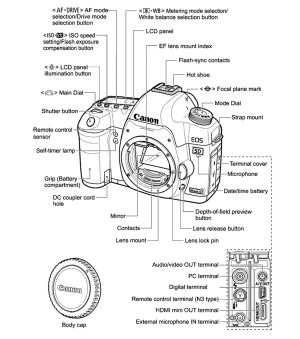Teach Besides Me: Digital Camera Labeled Diagram