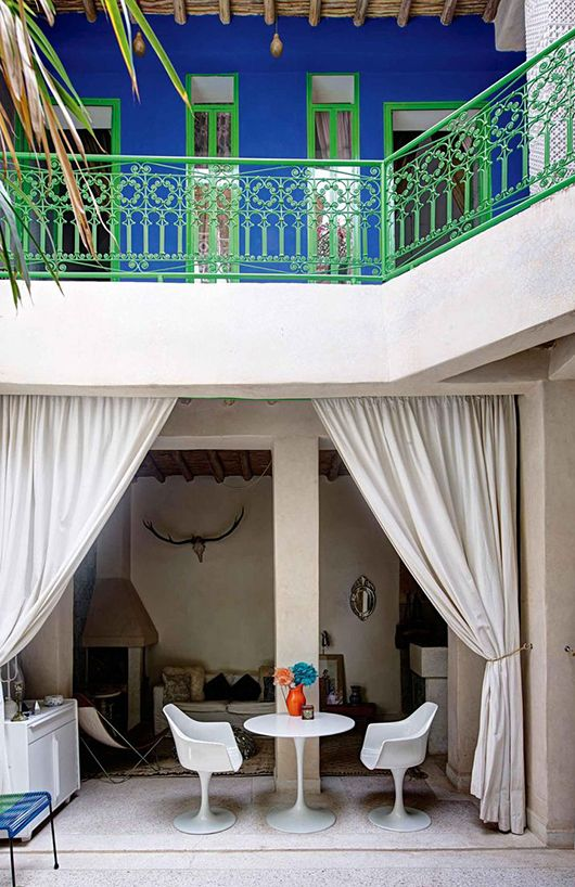 Traditional Turned Upside Down Home Modern Moroccan House Styles