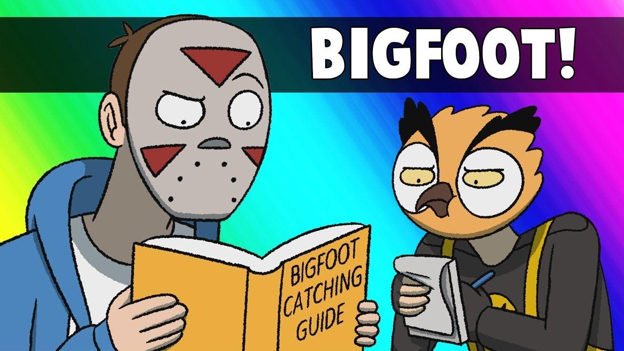 Vanoss Gaming Animated Bigfoot Hunters! Youtubers