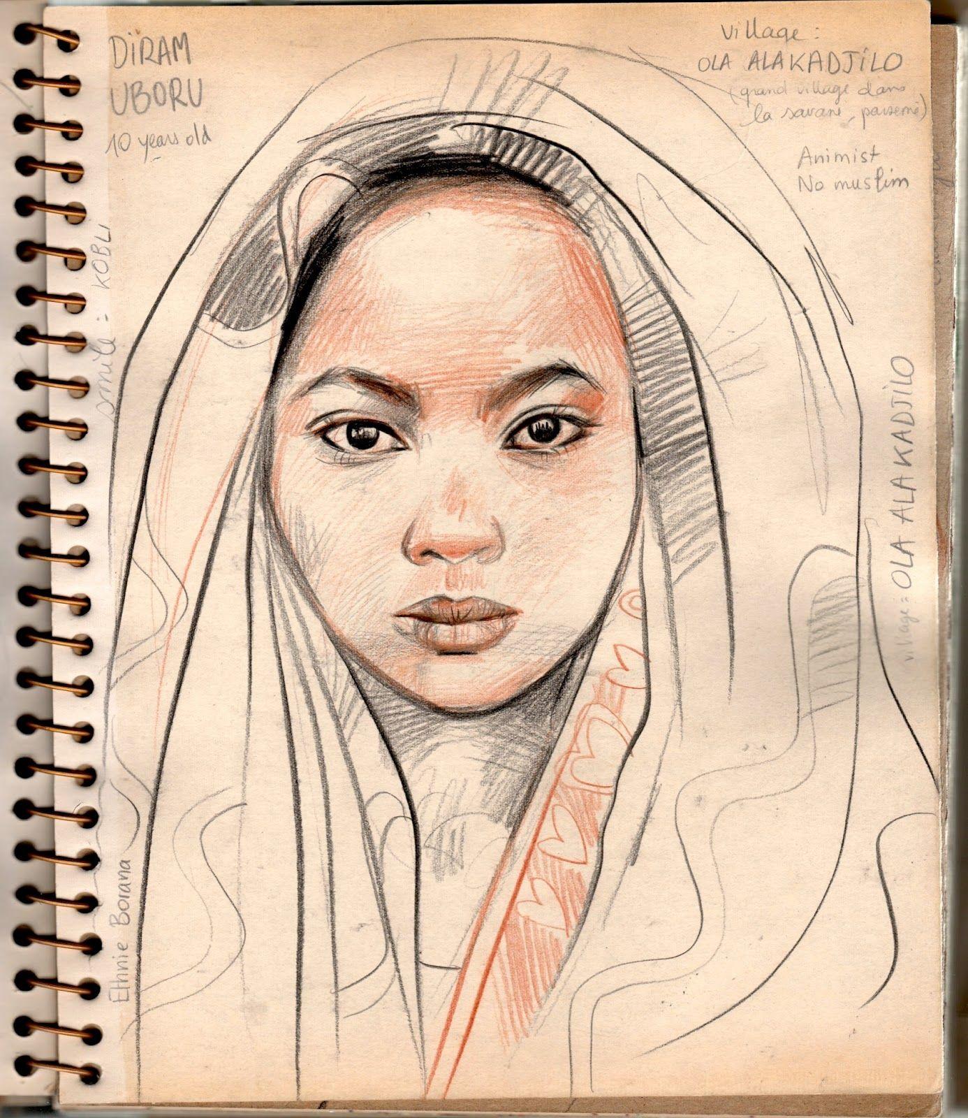 Stéphanie Ledoux - Carnets de voyage: Diram Uboru