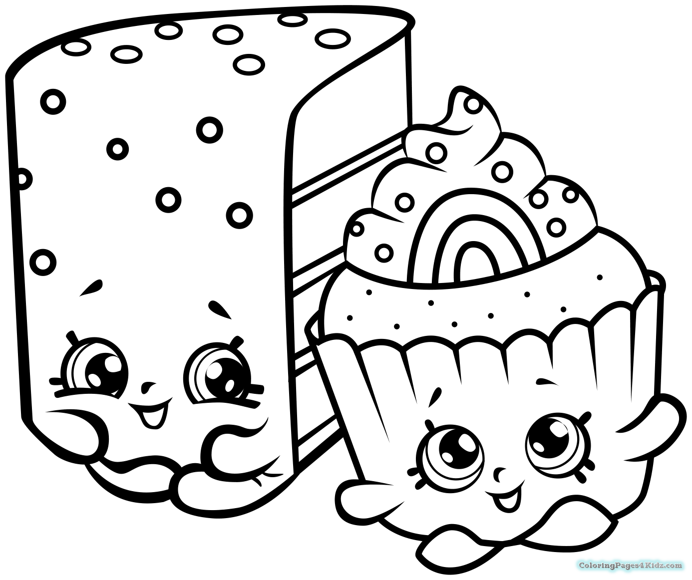 Shopkins Coloring Pages Season Limited Edition 7 Coloring Pages For Shopkins Para Colorear Dibujos Para Colorear Sencillos Shopkins Dibujos