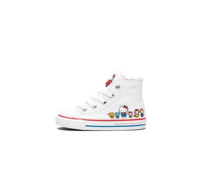 fd5d69fefe9872 Converse x Hello Kitty  Infant Chuck Taylor All Star High Top