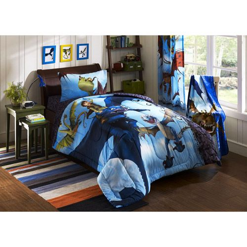 If i didnt already have a horse themed room dragons how to train your dragon comforter walmart ccuart Gallery