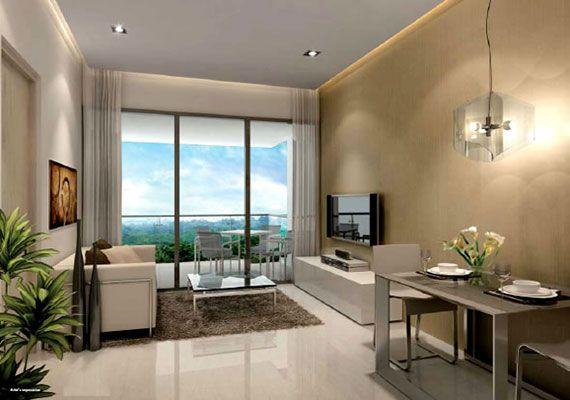 Modern, small condo interior | Interior Design | Condo interior ...