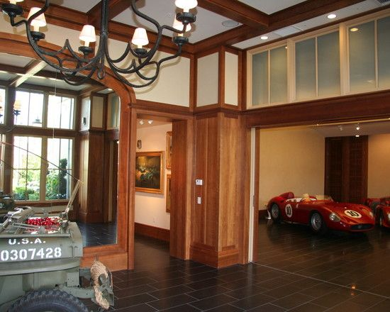 Residence Decorating Ideas And Historical Car Museum Room