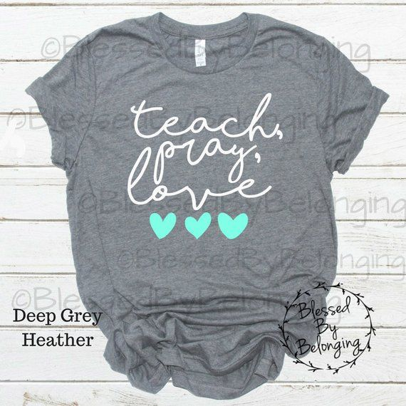 d413319a5 Perfect for teacher appreciation, or for a cute Christmas gift! This  t-shirt is everything youve dreamed of and more. It feels soft and  lightweight, ...