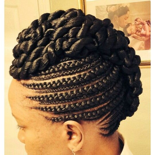 Pin by Ketou Srt on coiffure   Pinterest   Hair style, Natural and ...