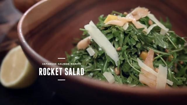 Nik michael imran prepares japanese salmon mango rocket salad for for more tasty recipes watch cooking for love only on asian food channel forumfinder Gallery