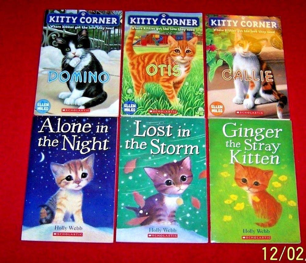 Children S 6 Kitten Chapter Books Holly Webb Ellen Miles Ages 6 9 Level 2 3 Chapter Books Animal Books Kitten