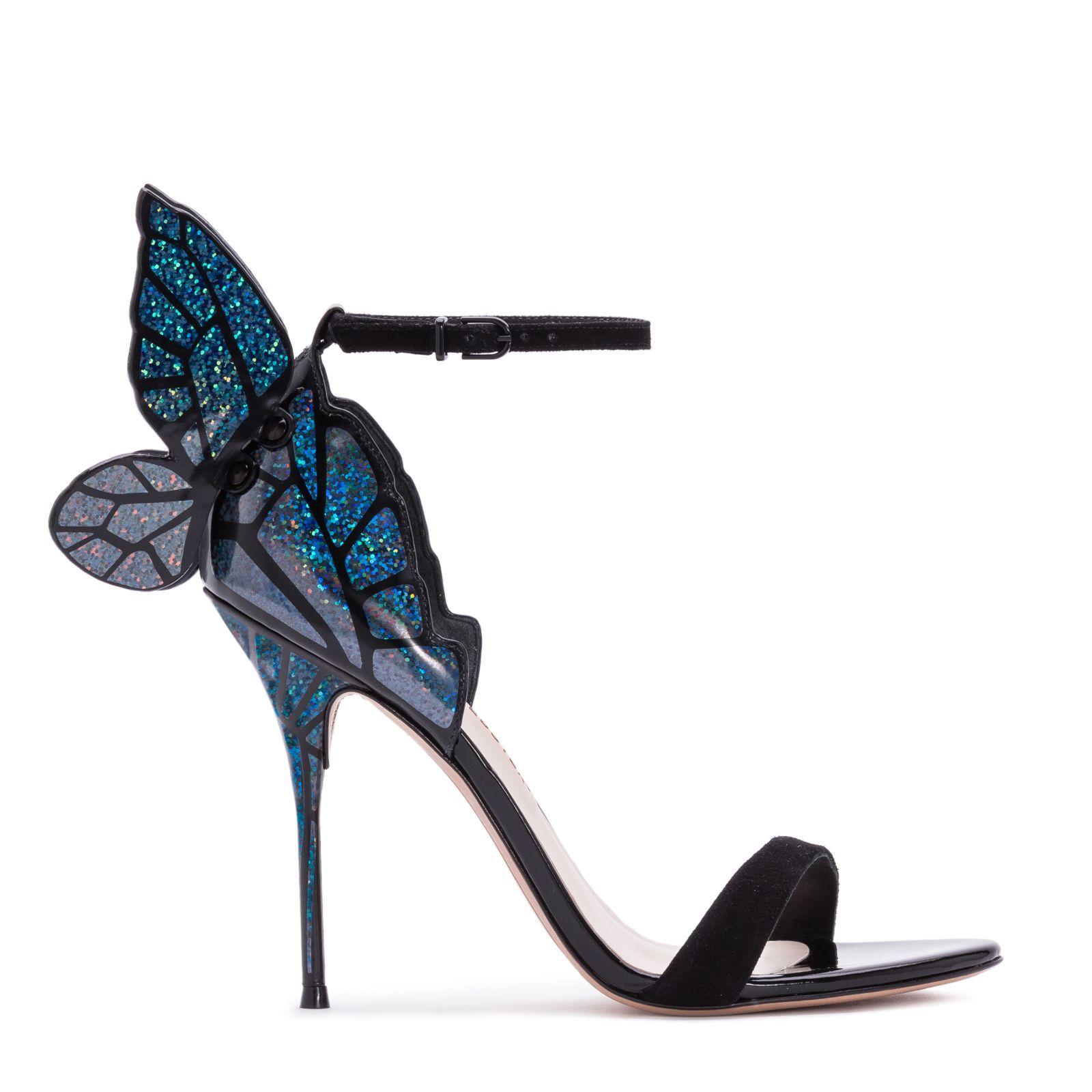 Butterfly shoes, Butterfly heels